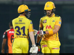 Chennai Super Kings Beat SunRisers Hyderabad - IPL 2021